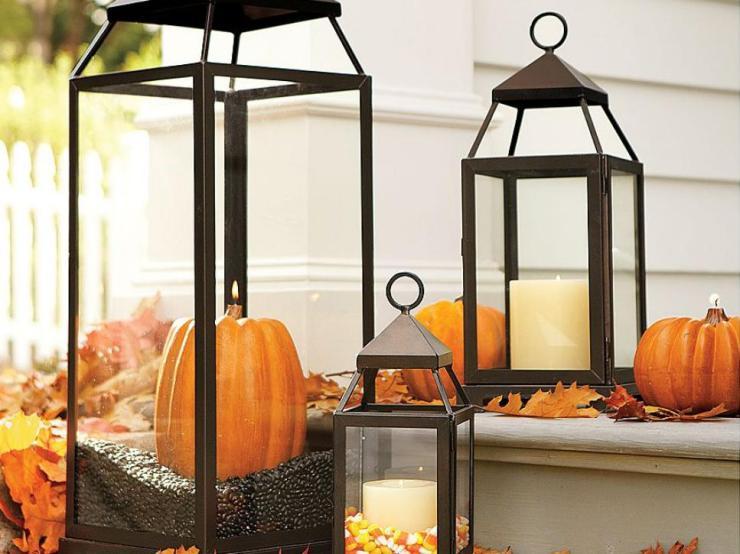 3 pumpkin lantern